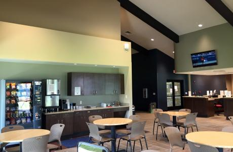 Beaumont Tennis Center Clubhouse interior