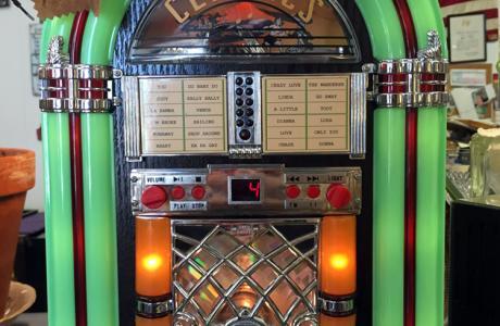 Jan's Antiques Jukebox