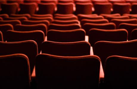 Movie Theater Seats - Red