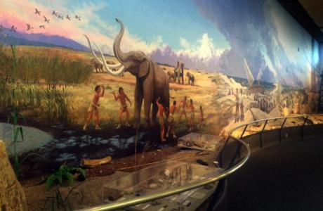 Mural at Museum of the Gulf Coast