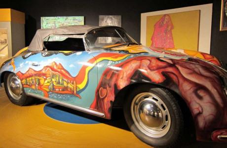 Janis Joplin Porsche - Museum of the Gulf Coast
