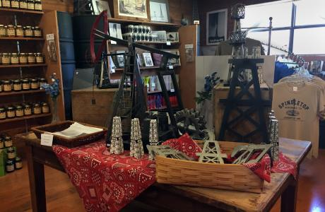 Spindletop Gift Shop Interior