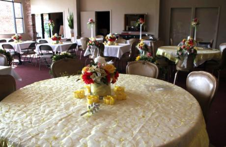 Table Setting Yellow