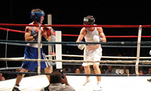 Boxing Event at CHECC