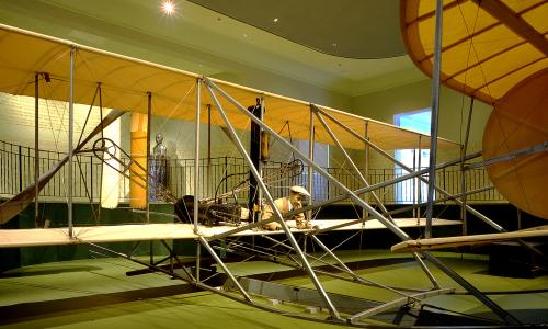 The John W. Berry, Sr. Wright Brothers National Museum has more Wright artifacts on display than any other place in the world, including the 1905 Wright Flyer III: the only airplane designated a National Historic Landmark, the first practical flying machine, and what the Wright brothers considered their most important aircraft.