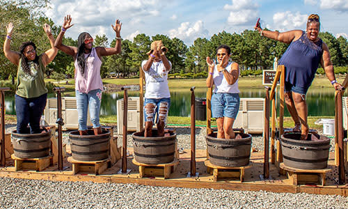 Duplin Winery Grape Stomp