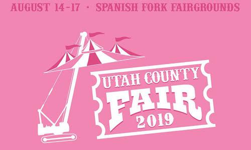 Utah County Fair 2019 Logo