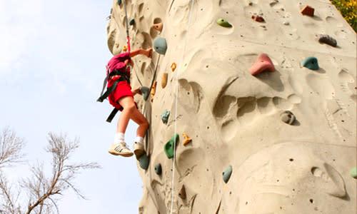 Rock Climbing - Clas Ropes Course