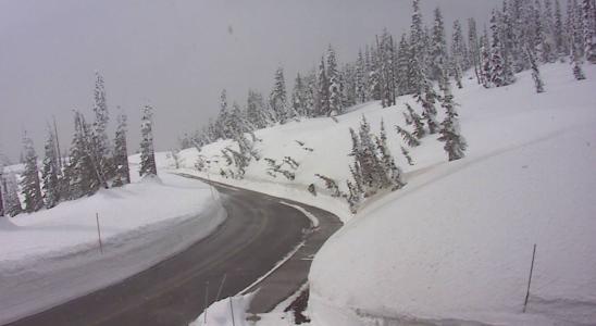 Mt Rainier West Live Webcam