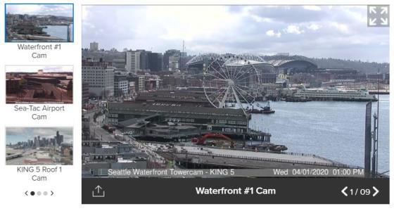 King5 TV Seattle Webcams