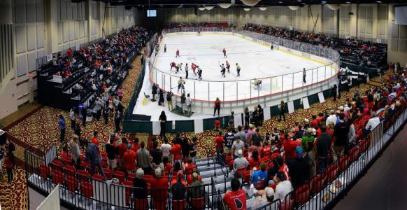 Hockey played at Akins Arena - Athens, Georgia
