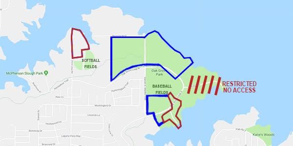 Oak Grove and Scott's Marina Map Rev