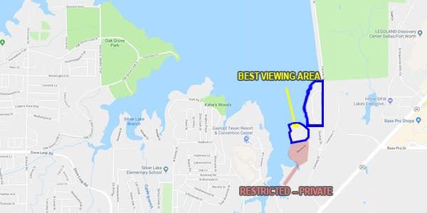 Silver Lake Marina Map