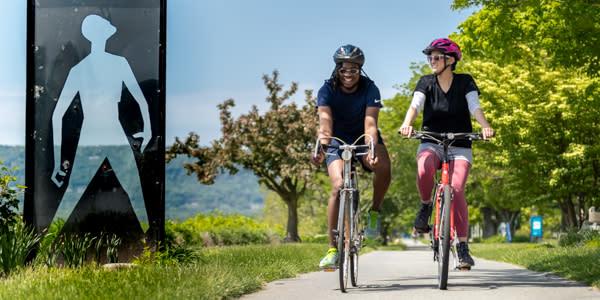 Parkway biking