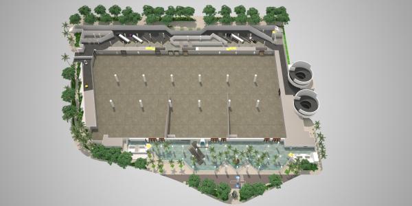 3D HCC Floor Plan - Level 1