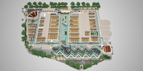 3D HCC Floor Plan - Level 3