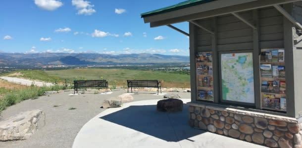 Boulder Visitor Kiosk Davidson Mesa