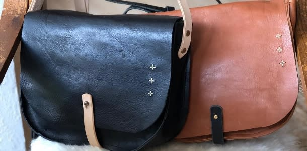 Two Leather bags by elke