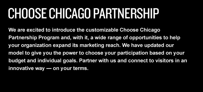 Choose Chicago Partnership main page