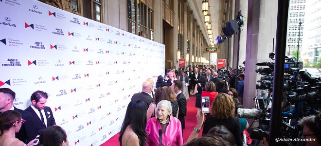 James Beard Foundation Red Carpet