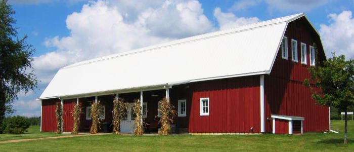 Barn on Curran's Orchard, Rockford