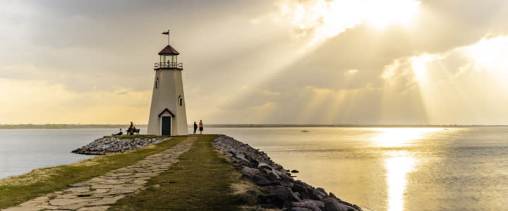 Lake Hefner Lighthouse