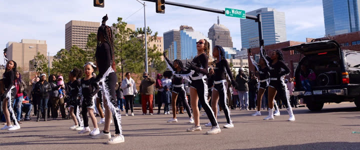 MLK Day Parade Downtown OKC