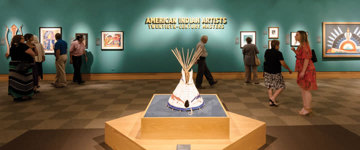 American Indian Artists at the NCWHM