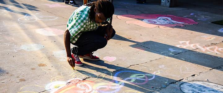 Plaza district festival