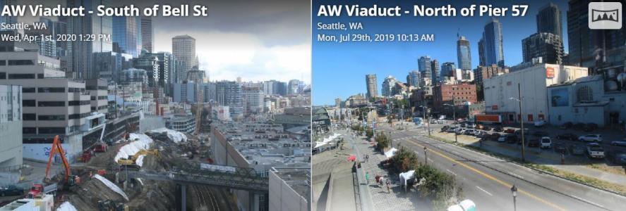 Alaskan Way Viaduct Live Webcam