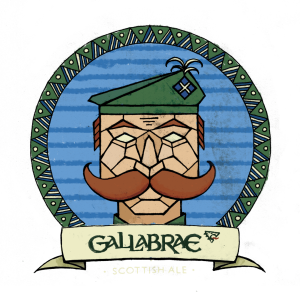 Gallabrae Scottish Ale Logo