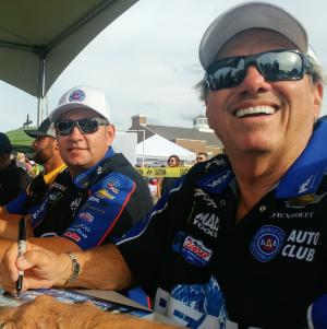 Meet members of the John Force Racing Team at the Big Go Block Party