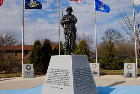 WWII Memorial Park in Avon
