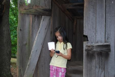 Lily Geocaching