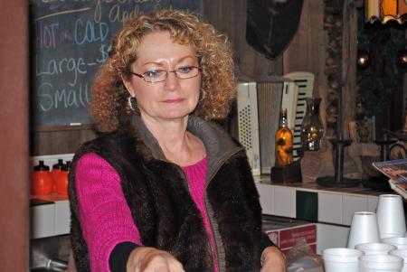 Debbie Beasley at Beasley's Orchard