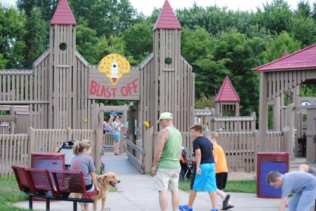 Blast Off Playground at Williams Park