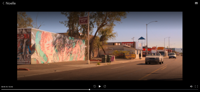 "Screenshot of ""Noelle"" at 16th Street in Phoenix"