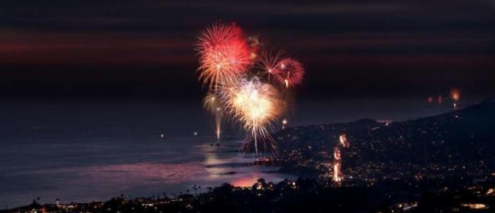 Laguna Beach 4th of July Fireworks