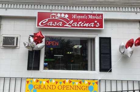 Casa Latina's store front