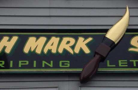Brush Mark Signs