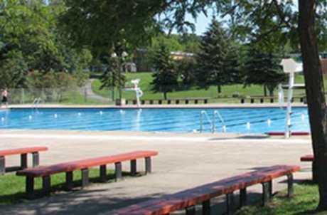 Casey Park Pool for TourCayuga