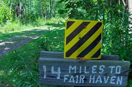 Cayuga County Hojack Trail to Fair Haven for TourCayuga