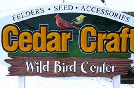 Cedar Craft Wild Bird Center for TourCayuga