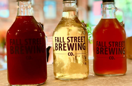 Fall Street Brewing Kombucha Growlers