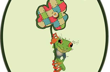 Lucky Frog Fabrics Logo for TourCayuga