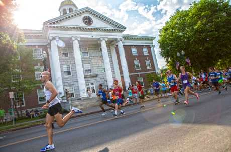 City Hall in Auburn NY - 5K Run