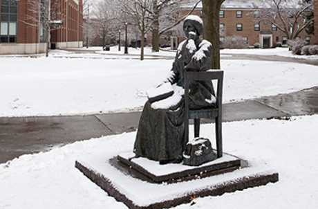 Elizabeth Blackwell in the winter