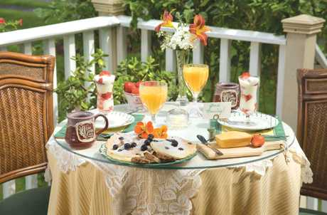 A Wicher Garden Bed and Breakfast