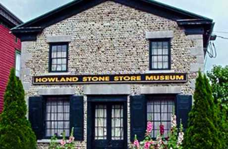 Howland Stone Store Musueum for TourCayuga