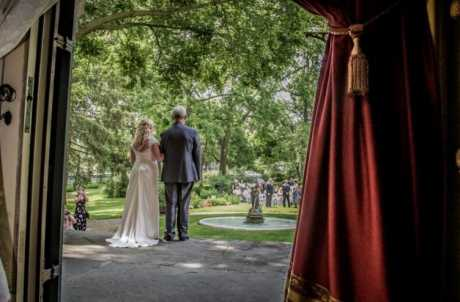 Wedding at the Seward House Museum